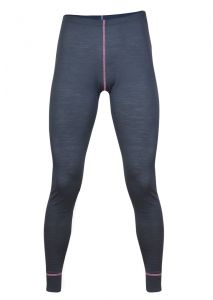 Zobrazit detail - Dámské Merino spodky šedá/ růžová