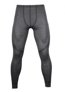 Zobrazit detail - Pánské Merino spodky šedá/ černá