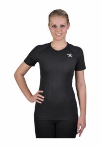 Coolmax triko krátký rukáv černá