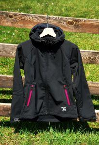MeTermo dámská Softshell bunda s kapucí, membránou černá MeTermo-Libor Macek