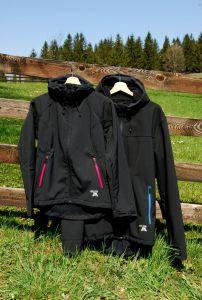 MeTermo pánská Softshell bunda s kapucí, membránou černá MeTermo-Libor Macek