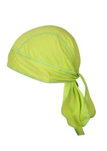 Coolmax šátek boční pohled zelená