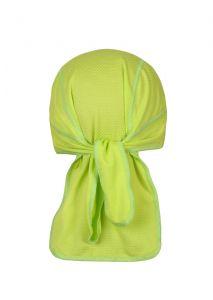 Coolmax šátek zadní pohled zelená