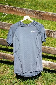 MeTermo termoprádlo pánské termo tričko šedá MeTermo-Libor Macek