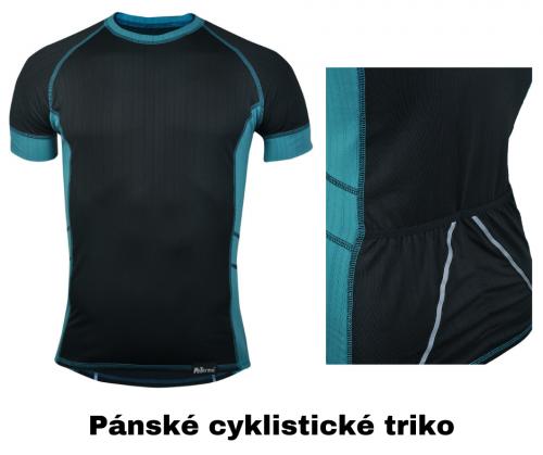 pánské cyklistické triko z coolmaxu