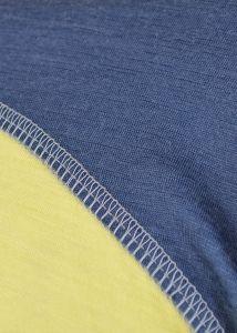 Merino triko dlouhý rukáv - detail plochý šev