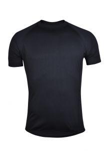 Coolmax triko krátký rukáv  černé
