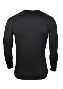 Pánské funkční Coolmax triko černé dlouhý rukáv MeTermo-Libor Macek