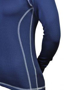 MeTermo Thermolite dámské termo triko modrá bílé prošití termoprádlo MeTermo-Libor Macek